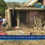 La Libertad: COFOPRI realiza catastro de damnificados por huaicos