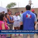 Laredo: Damnificados viven en situación crítica