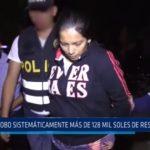 Trujillo: Cajera robó sistemáticamente más de 128 mil soles de restaurante