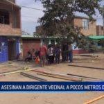 El Porvenir: Asesinan a dirigente vecinal a pocos metros de su casa