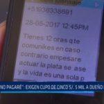 Alto Trujillo: Exigen cupo de 5 mil soles a dueño de colegio