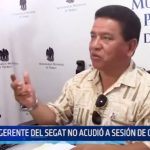 SEGAT: Carlos Delgado no acudió a sesión de concejo