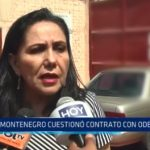 La Libertad: Montenegro cuestionó contrato con Odebrecht