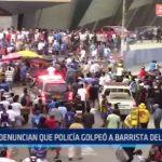 Trujillo: Denuncian que policía golpeó a barrista del Mannucci