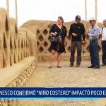 """UNESCO: """"Niño Costero"""" impactó poco en Chan Chan"""
