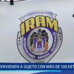 """Trujillo: Intervienen a sujeto con más de 130 """"ketes"""" de PBC"""