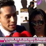 Iván Aguilera, hijo de Juan Gabriel, demanda a Telemundo y Univisión por difamación