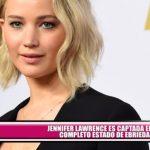Jennifer Lawrence es captada en completo estado de ebriedad