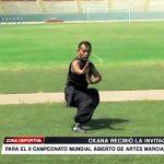 César Kcana recibió invitación para el II campeonato mundial de artes marciales
