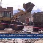 Trujillo: Intensificarán trabajos de limpieza en la ciudad