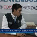 ODPE La Libertad instala oficina para revocatoria