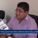 """Consejero Zavaleta: """"Publicidad fue para limpiar imagen del gobernador"""""""