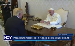 Vaticano: Papa Francisco recibe visita de Donald Trump