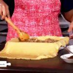Delicioso pastel de carne