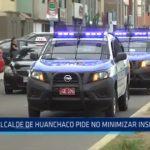 Huanchaco: Alcalde pide no minimizar real situación de inseguridad ciudadana