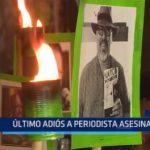 México: Último adiós a periodista asesinado