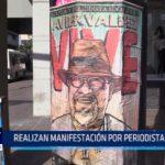 México: Realizan manifestación por periodista asesinado