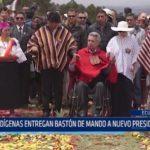 Ecuador: Indígenas entregan bastón de mando a nuevo presidente