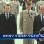 Francia: Traspaso de poderes será este domingo