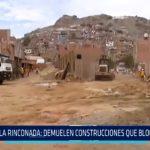Trujillo: Demuelen construcciones que bloqueaban calles