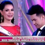 Miss Perú no cerrará la puerta a mujer transgénero, anuncia Jessica Newton