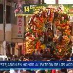 Moche: Devotos festejan en honor al patrón de los agricultores