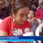 Trujillo: Entregan sillas de ruedas para discapacitados damnificados