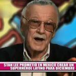 Stan Lee prometió en México crear un superhéroe latino para diciembre