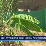Florencia de Mora: Malestar por ampliación de cementerio