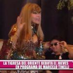"""""""La Tigresa del Oriente"""" debuta el jueves en programa de Marcelo Tinelli"""