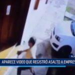 Chimbote: Aparece video que registró asalto a empresario