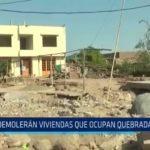 Trujillo: Demolerán viviendas que ocupan quebrada El León