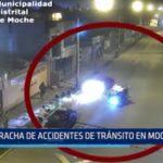 Moche: Racha de accidentes de tránsito