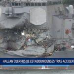Hallan cuerpos de estadounidenses tras accidente en buque