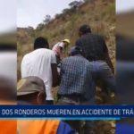 Huamachuco: Dos ronderos mueren en accidente de tránsito