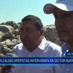 Víctor Larco: Alcaldes apepistas intervienen en sector Buenos Aires