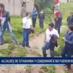 ONPE: Alcaldes de Sitabamba y Condormarca no fueron revocados