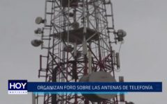 Santiago de Chuco: Organizan foro sobre antenas de telefonía