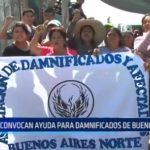 Víctor Larco: Convocan ayuda para damnificados de Buenos Aires