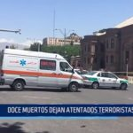 Irán: 12 muertos dejan atentados terroristas