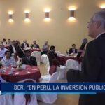"""Banco Central de Reserva: """"En Perú, la inversión pública bajó"""""""