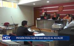 La Libertad: Prisión para sujeto que baleó a alcalde de Huaranchal