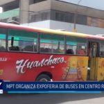 Trujillo: MPT organiza expoferia de buses en centro recreacional