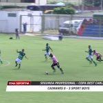 Caimanes 0 – 3 Sport Boys