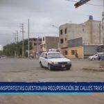 Trujillo: Transportistas cuestionan recuperación de calles tras Niño Costero