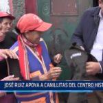 Trujillo: José Ruiz apoya a canillitas del Centro Histórico