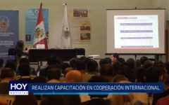 Trujillo: Realizan capacitación sobre cooperación internacional
