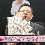 Contralor Edgar Alarcón envió carta notarial a Carlos Álvarez para impedir su imitación