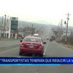 """Gerente de Transportes: """"Transportistas tendrán que reducir la velocidad"""""""