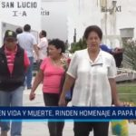 Trujillo: En vida y muerte, rinden homenaje a papá en su día